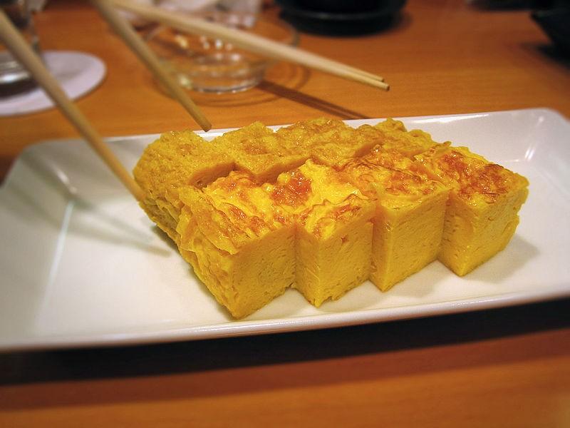 Японский омлет (Тамагояки)